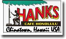Hanks Cafe Honolulu