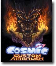 Dennis Mathewson of Cosmic Airbrush