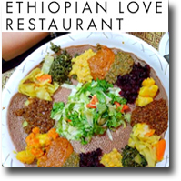 Ethiopian Love Restaurant - Downtown -Chinatown - Honolulu, Hawaii