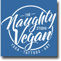 The Naughty Vegan Studio - Tattoos - Art Gallery - Yoga
