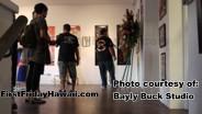 Art exhibit at Bayly Buck Studios